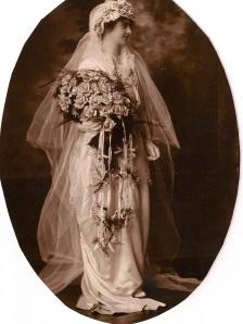 Alice on her wedding dayJune 10, 1914