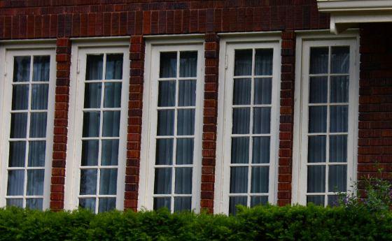 Front windows