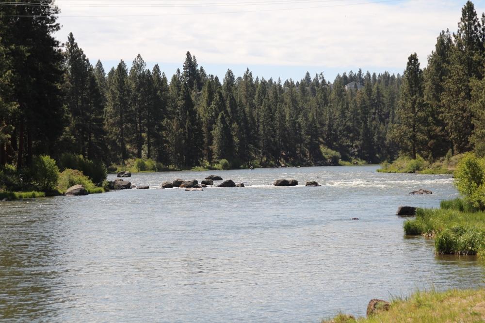 The Deschutes River, Bend